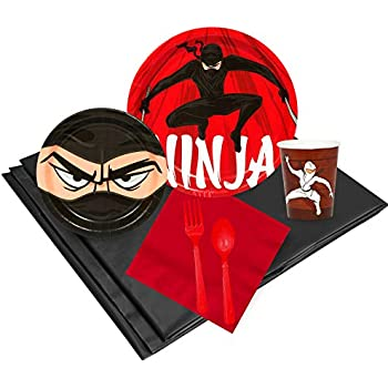 Amazon.com: Espuma de Ninja Star Party Favors de Fun Express ...
