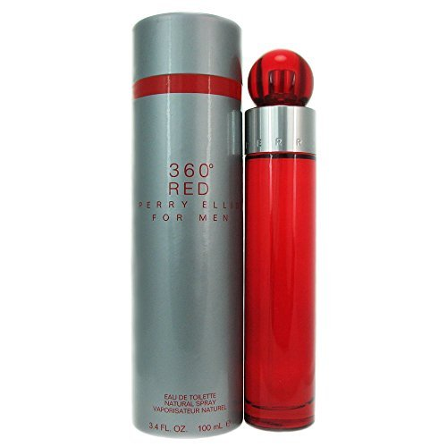 360 Red Cologne - 360 Red by Perry Ellis for Men - 3.4 Ounce EDT Spray
