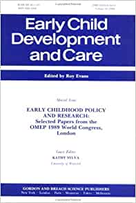 early childhood research papers