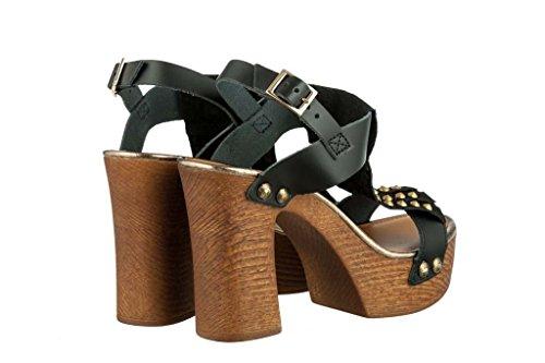Sandali donna in pelle per l'estate scarpe RIPA shoes made in Italy - 52-43396