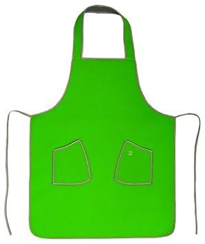 Delantal de cocina de neopreno barbacoa - verde
