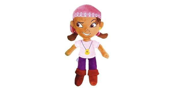 Disney Jake y los piratas de Neverland: 8 pulgadas Izzy Soft Toy ...