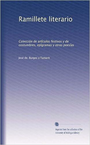 Amazon.com: Ramillete literario: Colección de art?culos ...