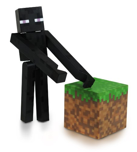 Home Halloween Costumes Ideas (Minecraft Core Enderman Action Figure with Accessory)