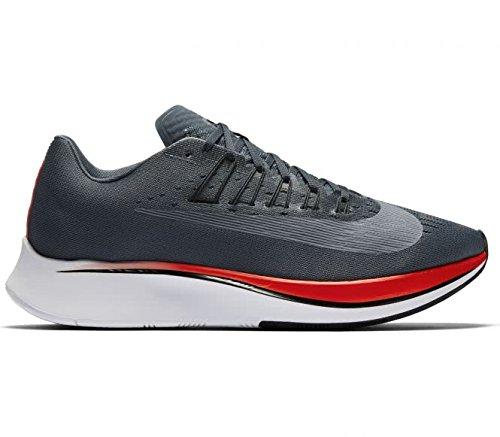 Nike Men's Zoom Fly, Blue Fox/Black-Bright Crimson, 11 M US