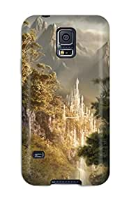 Perfect Fit BozblcG6028gMnNy Landscape Fantasy Abstract Fantasy Case For Galaxy - S5