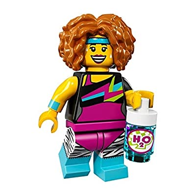 LEGO Collectible Minifigure Series 17 - Dance Instructor (71018): Toys & Games
