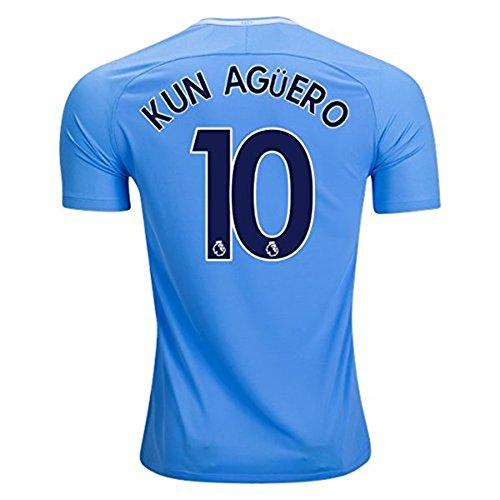 NIKE Men's 2017/18 Kun Aguero #10 Manchester City Soccer Vapor Match Jersey – DiZiSports Store