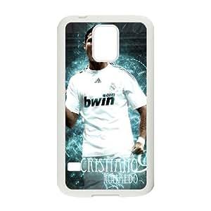 Samsung Galaxy S5 Cell Phone Case White Cristiano Ronaldo IOC Plastic Back Cell Phone Case