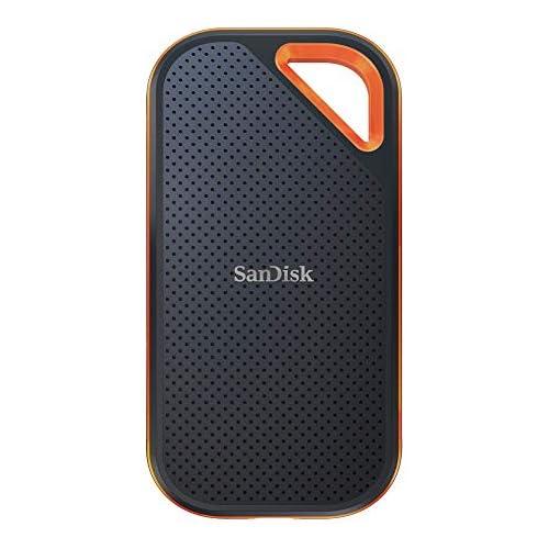 chollos oferta descuentos barato SanDisk Extreme Pro Portable SSD de 2 TB y hasta 1050 MB s con USB C de diseño robusto y resistente al agua