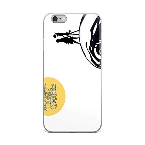 iPhone 6 Plus/6s Plus Case Anti-Scratch Motion Picture Transparent Cases Cover Nightmare Before Christmas Movies Video Film Crystal Clear -