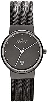 Skagen Women's 355SMM1 Ancher Grey Mesh Watch