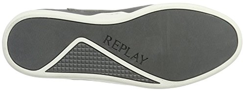 REPLAY Grey White Collo Bramn Sneaker Grigio a Uomo Alto wrwpq1g