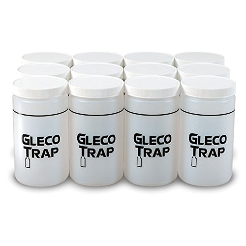 Practicon 7078711 Gleco Trap Replacement Bottles, 32 oz. (Pack of 12) by Practicon