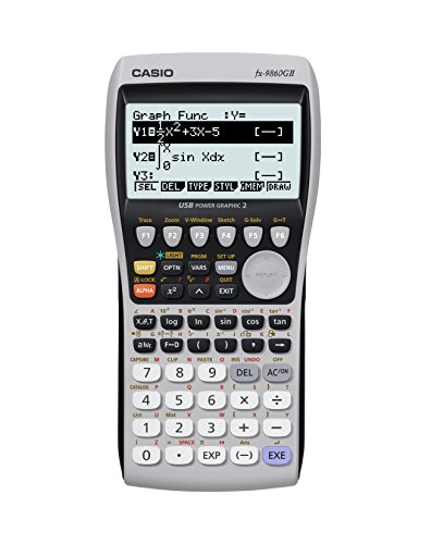 2CA0745 - Casio FX-9860GII Graphing Calculator