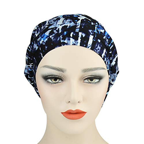 2eb4a4e5015 Alnorm Cozy Satin Lined Slouchy Beanie Cap with Soft Elastic Band for Men    Women