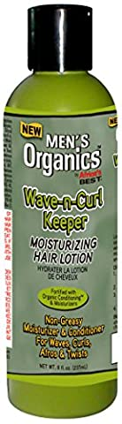 Africa's Best Men's Texture My Way Wave-N-Curl Keeper, 8 Ounce (Wave Conditioner)