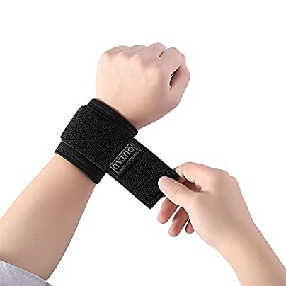 HLHSSS Wrist Wraps Wrist Wraps Adjustable Sport Wristband Wrist Brace Wrap Bandage Support Band Gym Strap Safety Sports Wrist Protector Breathable Estimated Price £26.08 -