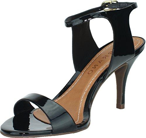 Carrano Adalyn Skinn Kjole Sandal Sort