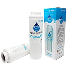 2-Pack Replacement KitchenAid KFCS22EVMS Refrigerator Water Filter - Compatible KitchenAid 4396395 Fridge Water Filter Cartridge