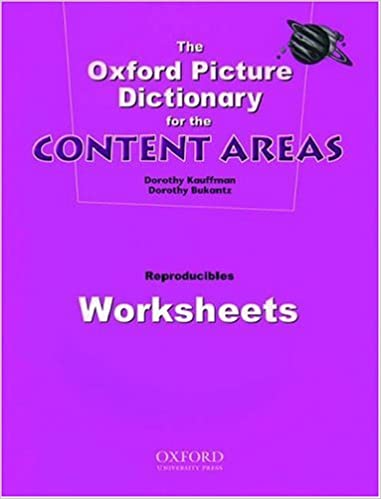 The Oxford Picture Dictionary for the Content Areas (Worksheets ...