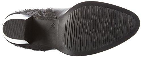 Tamaris 1-1-25550-27 - Botas altas con tacón para mujer Negro (Black 001)