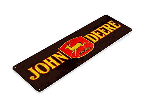 Tinworld Tin Sign John Deere Tractor Retro Rustic Farm Equipment Store Metal Sign Decor B672