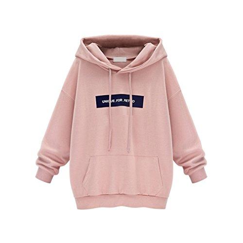 Print Coat Velvet (Women Harajuku Sweatshirt Casual Velvet Loose Letter Print Pink Hoodie Svitshot Women Hoodies Coat Plus Size New Arrival)