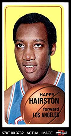 1970-71 Topps #77 Happy Hairston Los Angeles Lakers Basketball Card