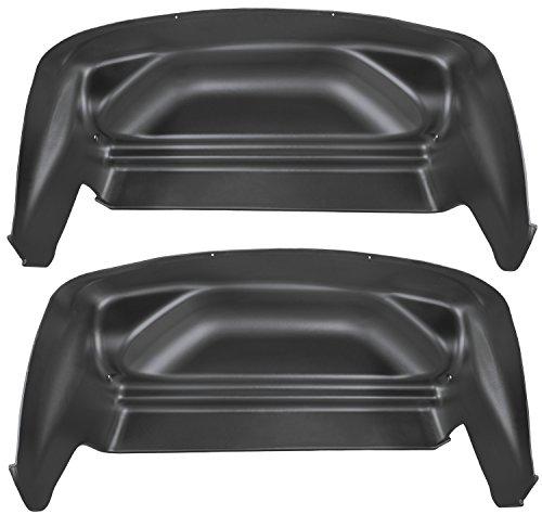 Husky Liners Rear Wheel Well Guards Fits 07-13 Silverado/Sierra 1500 (Cut Frame 07 No Black)