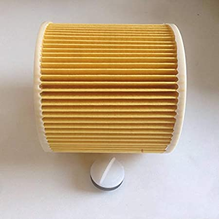 yangGradel 1//2 4Pcs Partes de Filtro de Cartucho para KARCHER WD2.200 WD3.500 Aspirador