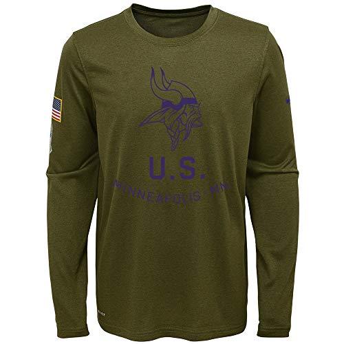 Minnesota Vikings Salute To Service Hoodie 27ddb040e