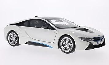 BMW I8 White Black Model Car Ready Made I