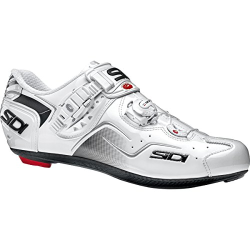 小包アスリート着る(シディ) Sidi Kaos Carbon Shoes メンズ ロードバイクシューズWhite [並行輸入品]