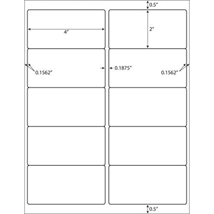 amazon com 100 sheet pack 1000 labels total standard address