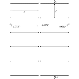 100 sheet pack 1000 labels total standard. Black Bedroom Furniture Sets. Home Design Ideas
