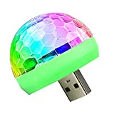 USB Mini Disco Light,Sound Activated DC 5V RGB
