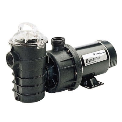 Pentair DYN-N1-1.5HP Dynamo One Speed Aboveground Pool Pump with 3-Feet Standard Cord, 1-1/2 -