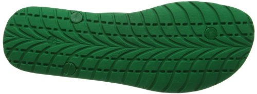 Diesel Men's Plaja Splish Sandal Green