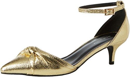 Punta Scarpe Donna Tacco Quack Gold Look Oro Chiusa col 93 New ZqPHXSZ