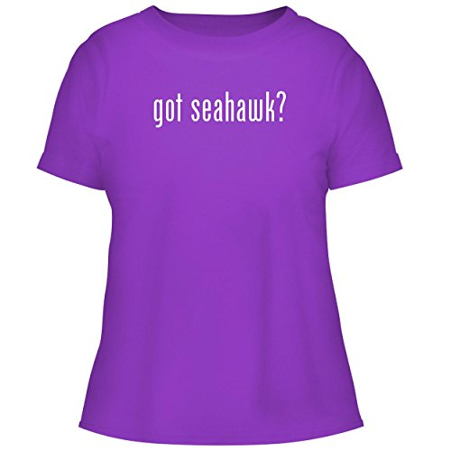 BH Cool Designs got Seahawk? - Cute Women's Graphic Tee, Purple, Large