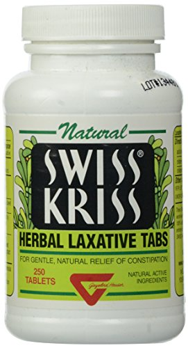 (Swiss Kriss Herbal Laxative Tablets, 250 Count)