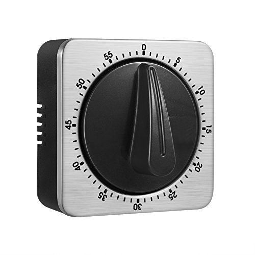 Timer Kitchen Timer 60 Minute Timing with Loud Alarm Sound M