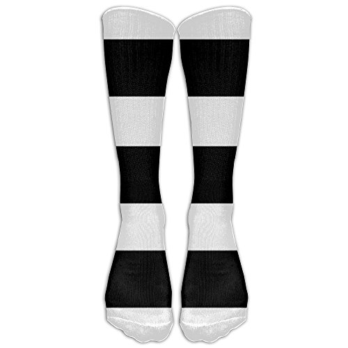 Stripe Crew Comfort Casual Fashion Long Socks For Running ,Sport And Travel