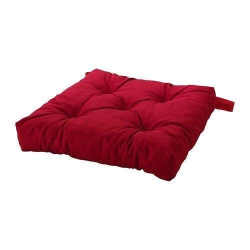IKEA MALINDA-Cojín para silla, color rojo: Amazon.es: Hogar