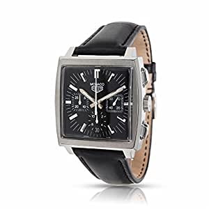 Tag Heuer Monaco automatic-self-wind mens Watch CS2111 (Certified Pre-owned)