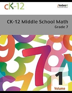 Ck 12 algebra i ck 12 foundation amazon ck 12 middle school math grade 7 volume 1 of 2 fandeluxe Gallery
