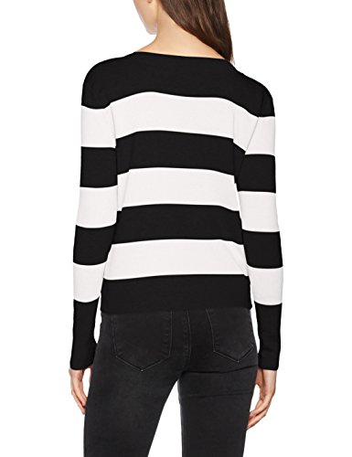 S Multicolore L Pullover KNT Femme Noos Pull Only Black Onlbologne xgwBqa1WO