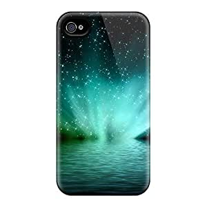 Anti-scratch And Shatterproof Aurora Over Water Phone Cases For Iphone 6/ High Quality Cases