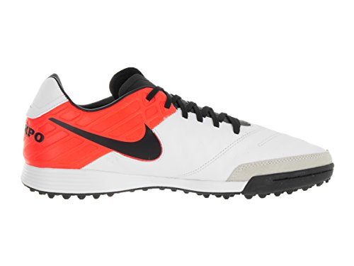 clearance big discount from china free shipping NIKE Men's Tiempo Mystic V TF Turf Soccer Shoe White/Black/Total Orange BQq59TdC